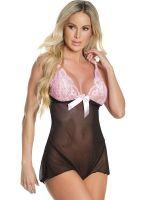 Coquette Elite: Teddy, schwarz/pink