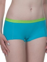 Bruno Banani Flooding: Panty 2er Pack, turquoise/apple