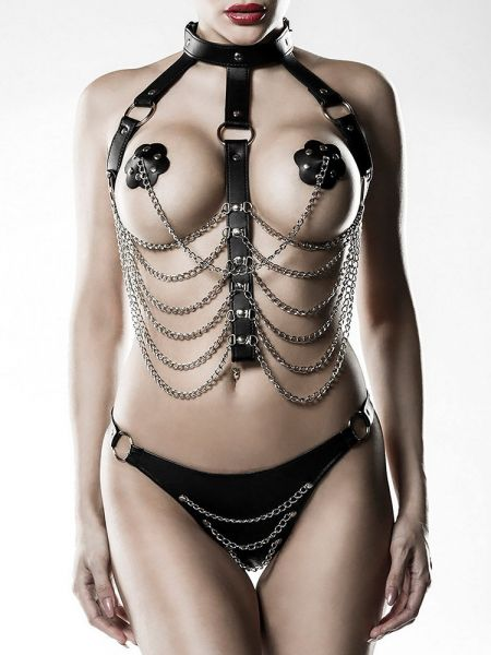 Grey Velvet 14503: Kettenharness-Set 3-teilig