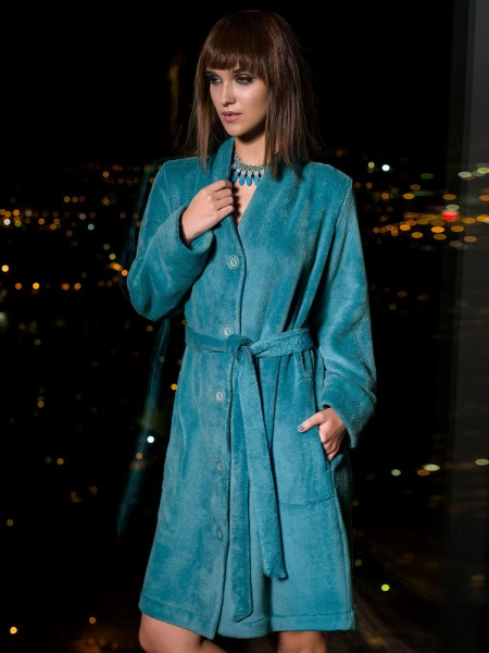COEMI 5th Avenue: Bademantel, teal