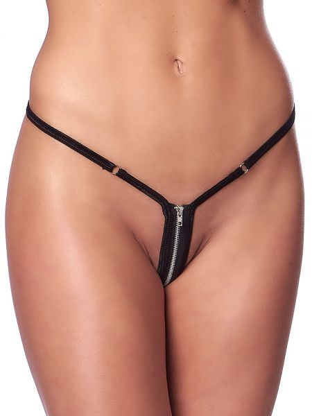 Zip-Microstring, schwarz