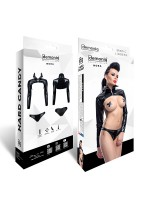 Demoniq Hard Candy Top-Set: Nora, schwarz