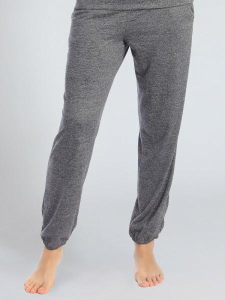 Sassa Elegant Melange: Lounge Pant, grau
