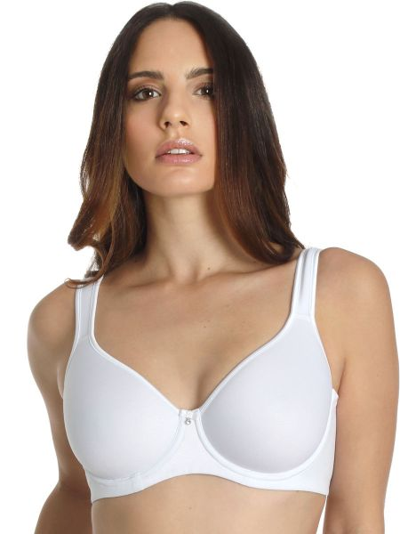 Sassa Sensual Pebble: Flexicup Spacer-BH, weiß