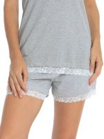 Sassa Melange Mix & Match: Shorts, grau