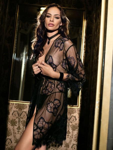COEMI Blake: Kimono, schwarz