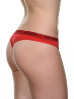 Bruno Banani Smoothly Cotton: String, rot