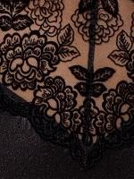 Passion Tonya: Strapshemd, schwarz