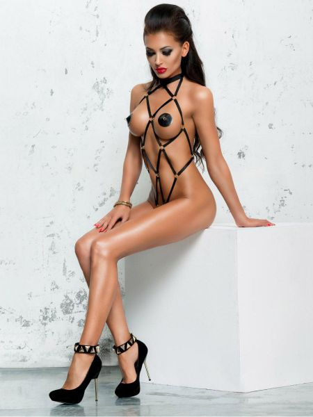 MeSeduce Harness-Body: B0117, schwarz