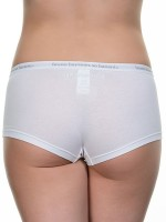 Bruno Banani Smoothly Cotton: Panty, weiß