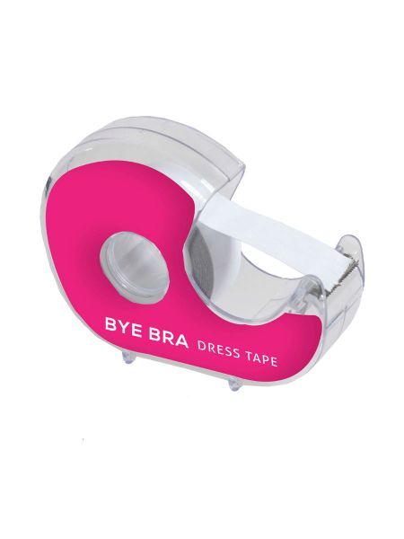 Bye Bra Dress Tape With Dispenser 3m: Textil-Klebestreifen-Abroller