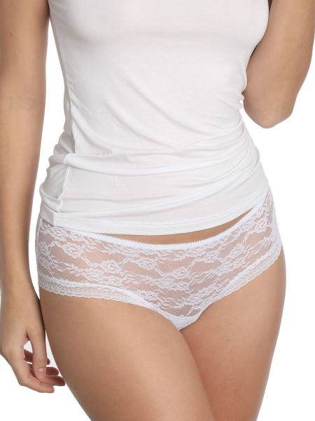 Sassa Lovesome Lace: Panty, weiß