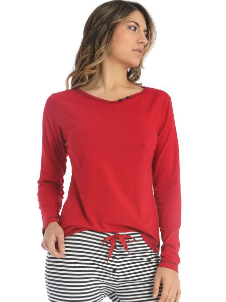 Sassa Sea Spirit: Lounge Shirt, rot