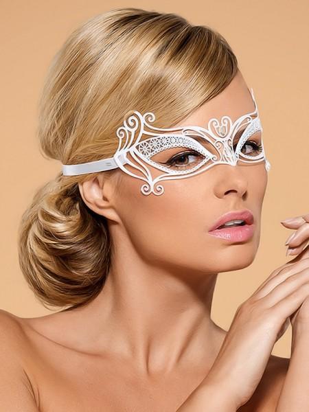 Obsessive A703: Augenmaske, weiß